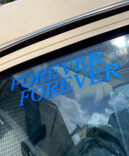 Load image into Gallery viewer, Double Forever Blue Glitter Die Cut