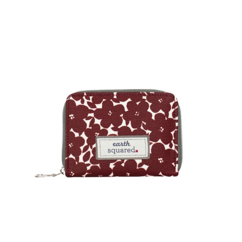 Earth Squared Red Wallet Purse