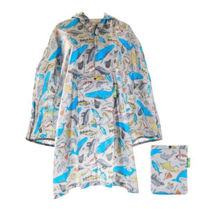 Eco Chic Sea World Poncho