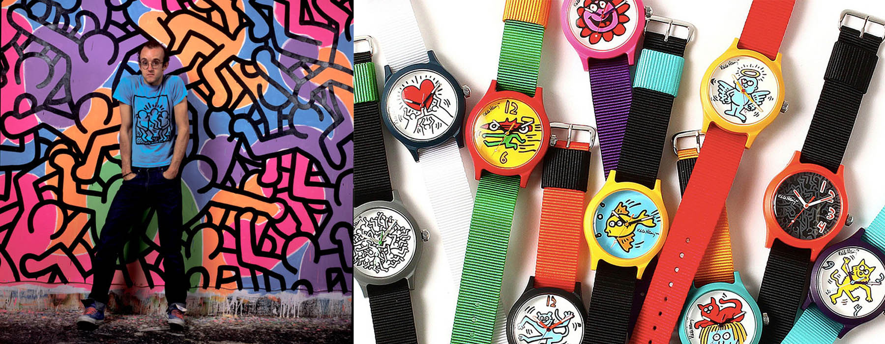 Keith Haring Swatch collaboration