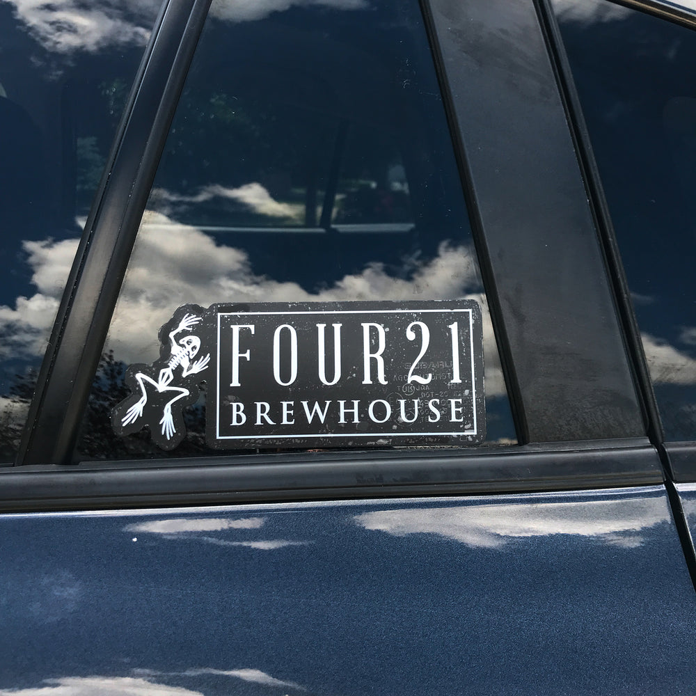 421 Brew House Sticker