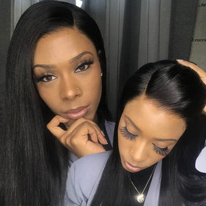 Skin Melt HD Lace & Invisible Knots Pre-Plucked Natural Hairline Ready to Wear Wig 13*6 Glueless Lace Front Wig