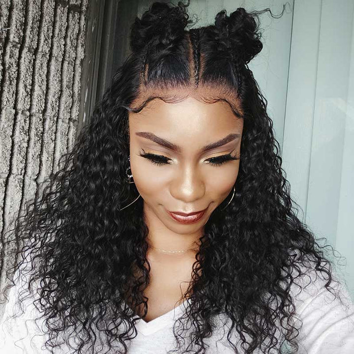 Coco | HD Lace Wig 13x6 Lace Front Wig Deep Curly (4094094311484)