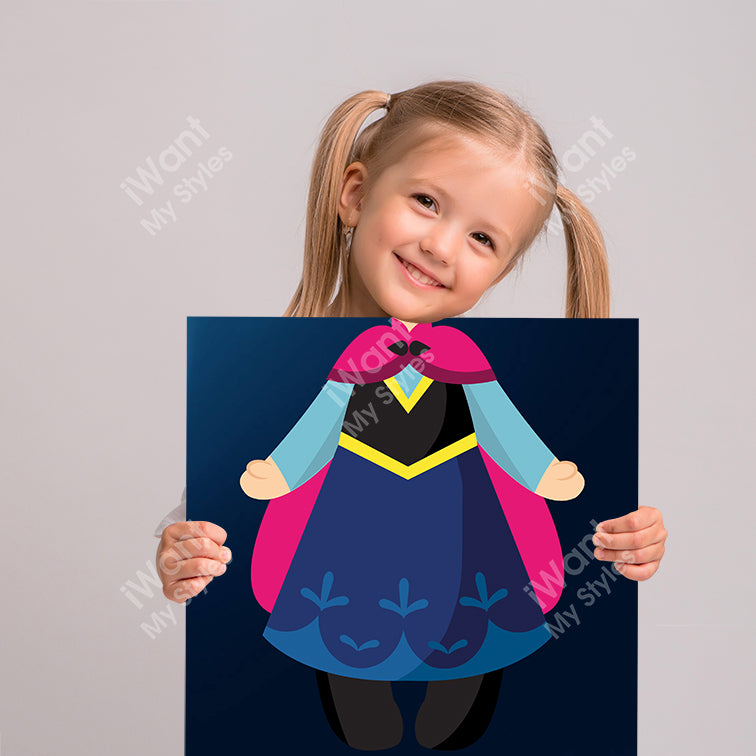 Disney Frozen Princess Anna's Dress Canvas II, Party and Birthday Favors