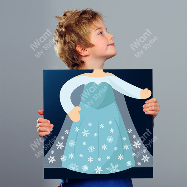 Disney Frozen Princess Elsa's Dress Canvas II, Party and Birthday Favors