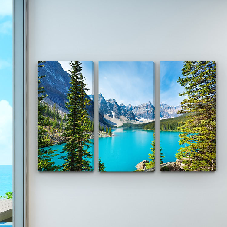 Multi Panel Canvas Split