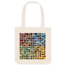 Load image into Gallery viewer, Four Seasons of Hanoi Canvas Tote Bag - 80% Organic Cotton, 20% Recycled Plastic