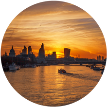 Load image into Gallery viewer, Sunrise Over The Thames