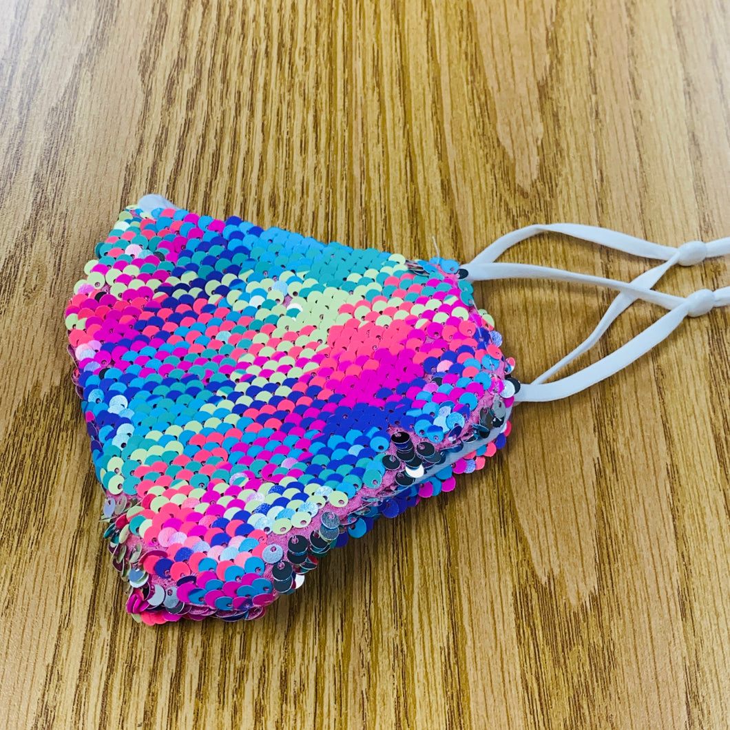 Colorful Sequins Face Mask