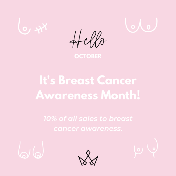 Breast Cancer Awareness Month - Partner With Reign Swim to Support a Great Cause