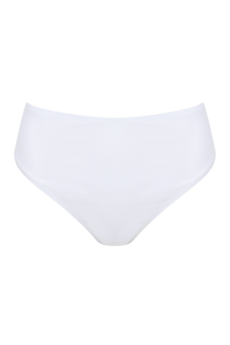 White Ashley Bikini Bottoms