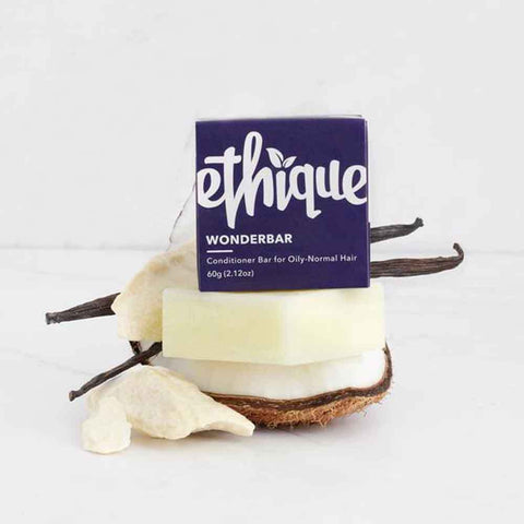 Ethique Conditioner Bar Wonderbar - Conditioner for Oily to Normal Hair