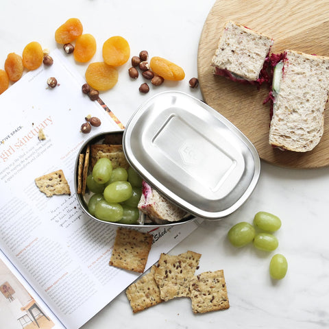 ever eco stainless steel lunch container 2 compartments