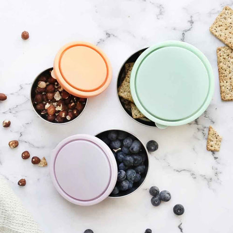 round containers stainless steel nesting containers ever eco great for lunch boxes