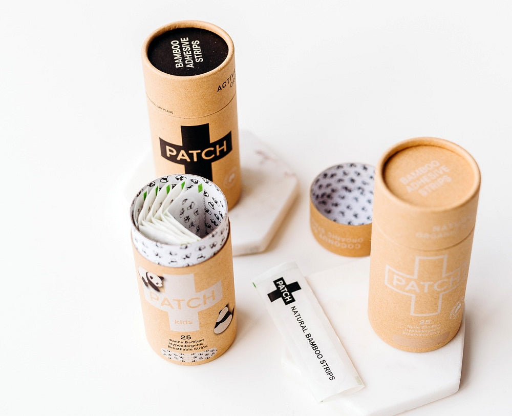 Patch Bamboo Bandages - Natural - Goods that Give