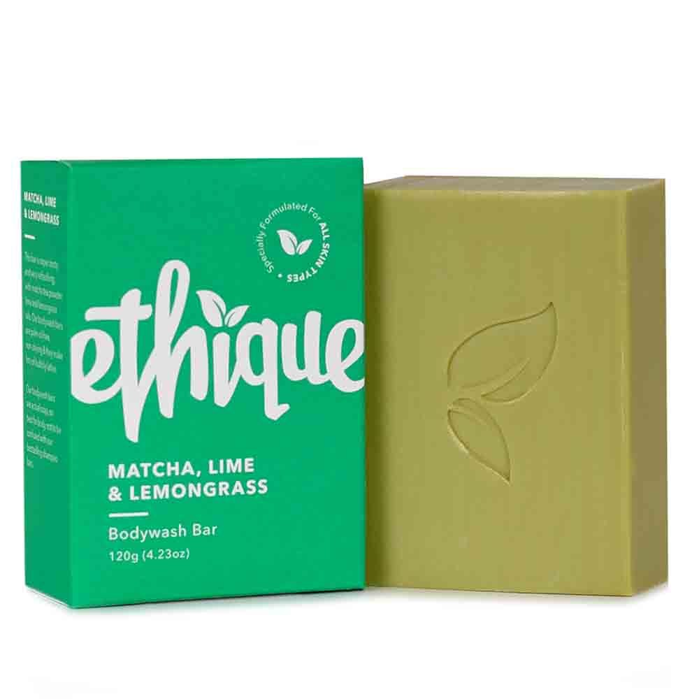 Ethique Bodywash Bar Matcha, Lime & Lemongrass (120g) - Goods that Give