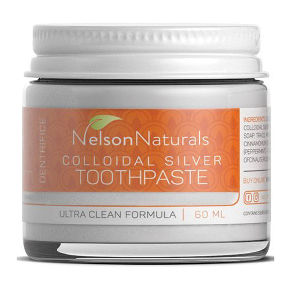 NELSON NATURALS Zero Waste Citrus Toothpaste 60ml - Goods that Give