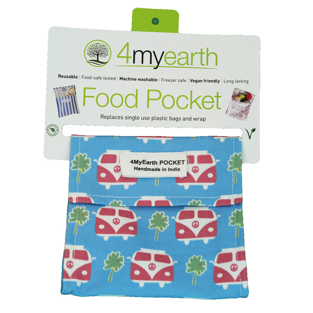 Food Pockets - Cotton (4MyEarth) - Goods that Give