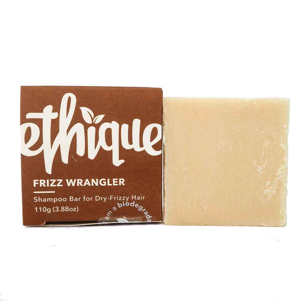 Ethique Shampoo Bar Frizz Wrangler - Dry Frizzy Hair (110g) - Goods that Give