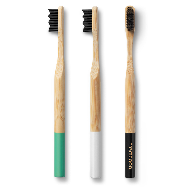 Bamboo Toothbrush (GoodWell) - Goods that Give