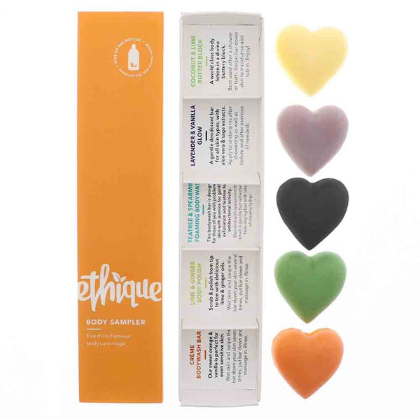 Ethique Body Care Sampler Pack (100g) - Goods that Give