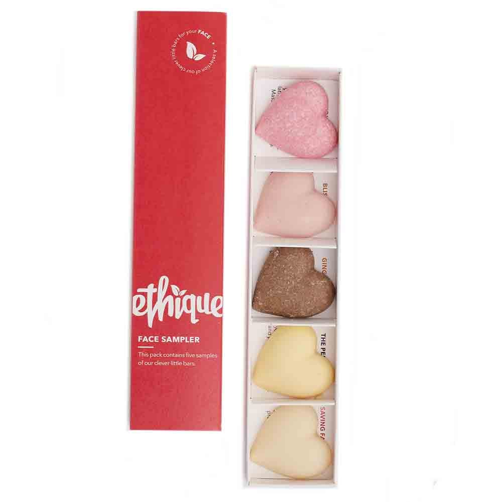 Ethique Face Sampler Pack (100g) - Goods that Give
