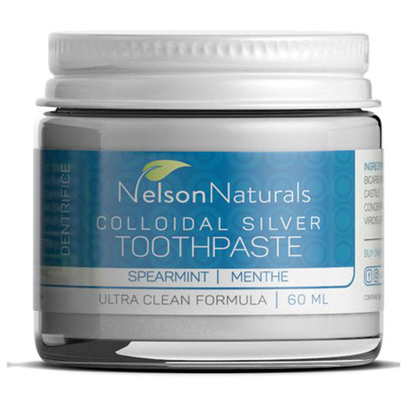 NELSON NATURALS Zero Waste Spearmint Toothpaste 60ml - Goods that Give