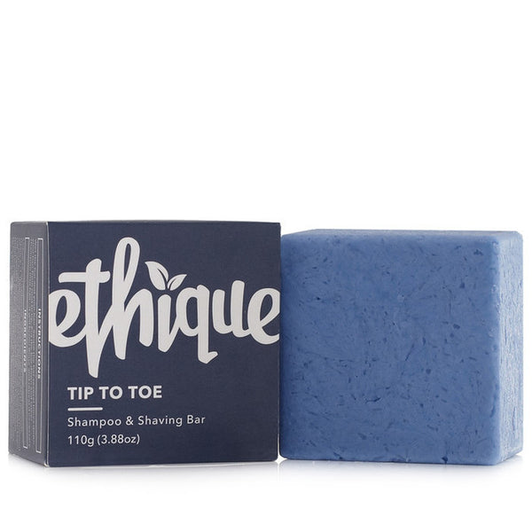 Ethique Solid Shampoo And Shaving Bar - Tip-To-Toe (110g)