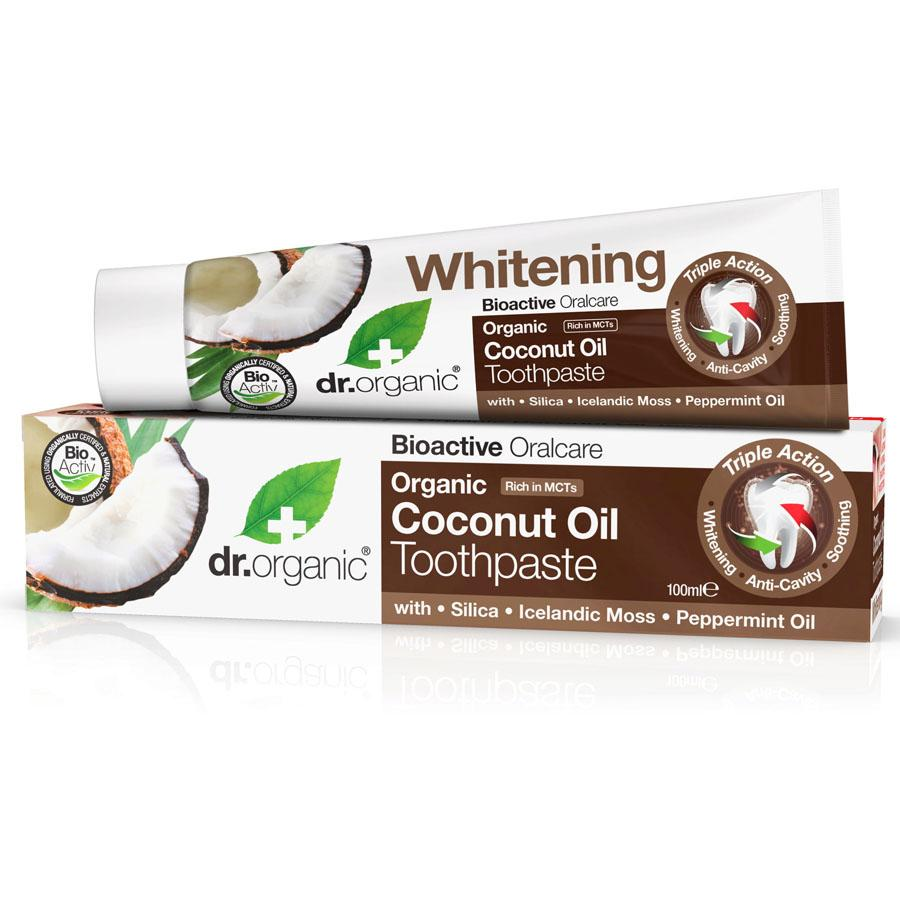 Dr Organic Toothpaste Organic Virgin Coconut Oil - 100ml