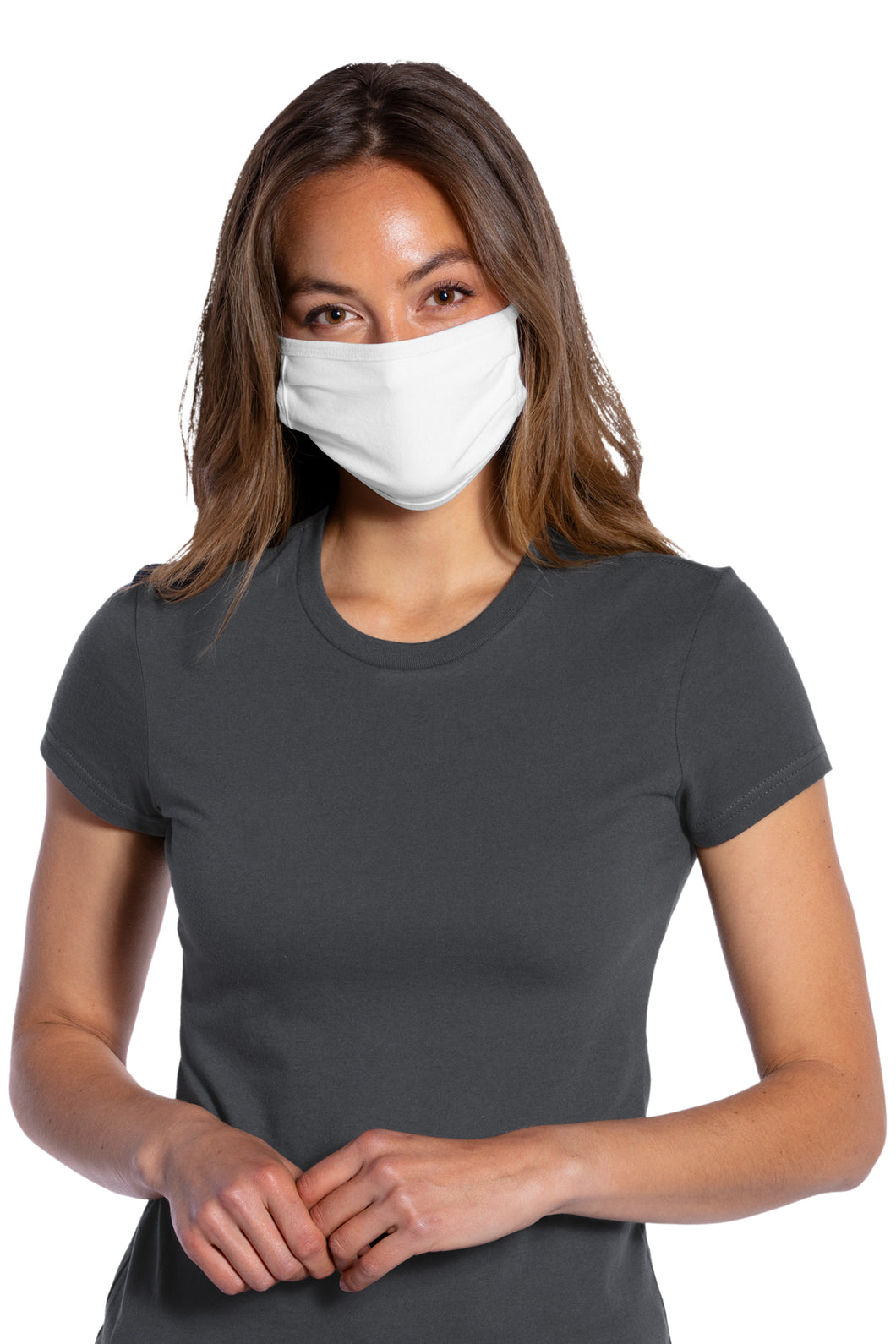 Antimicrobial Cotton Knit Face Mask - 50 Pack