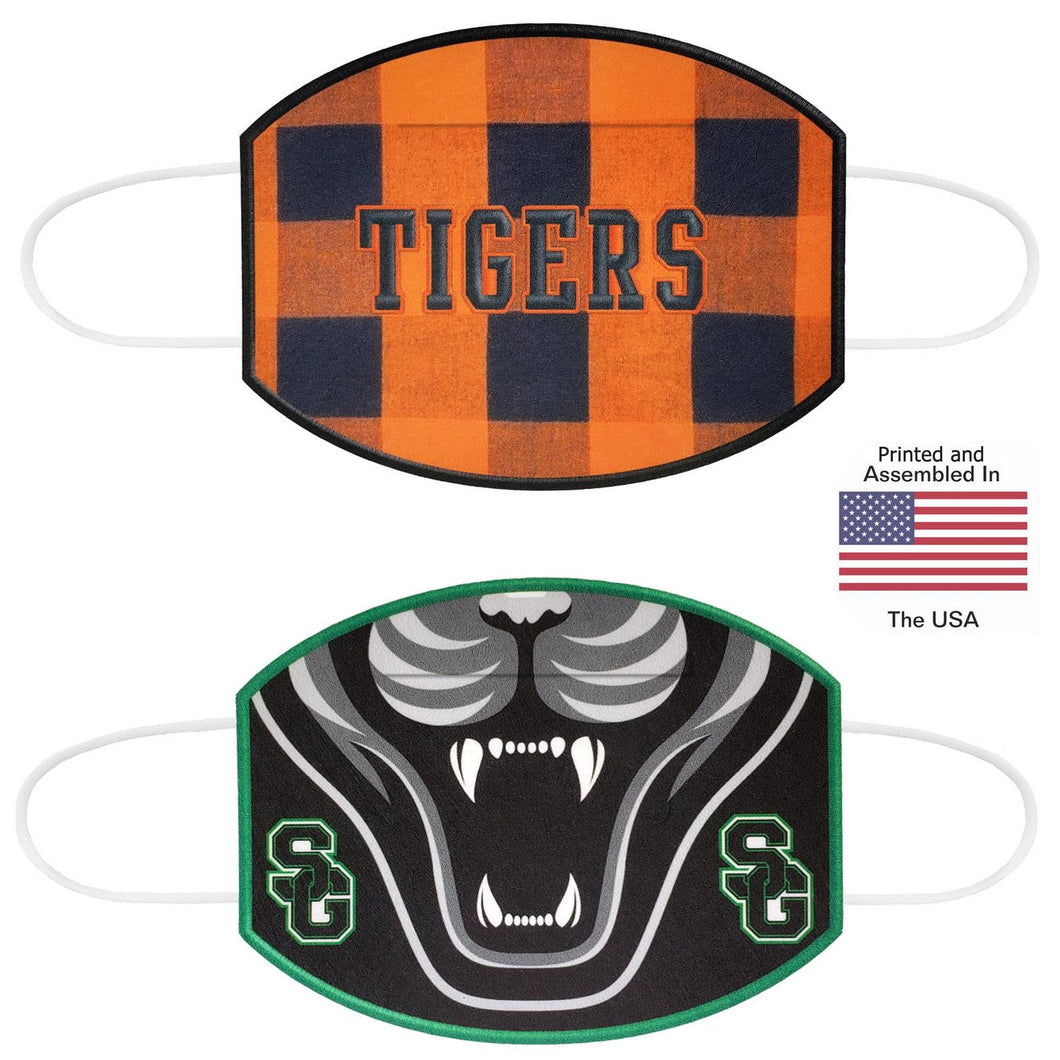 Mascot / Custom Logo Promo Masks - Made in the USA