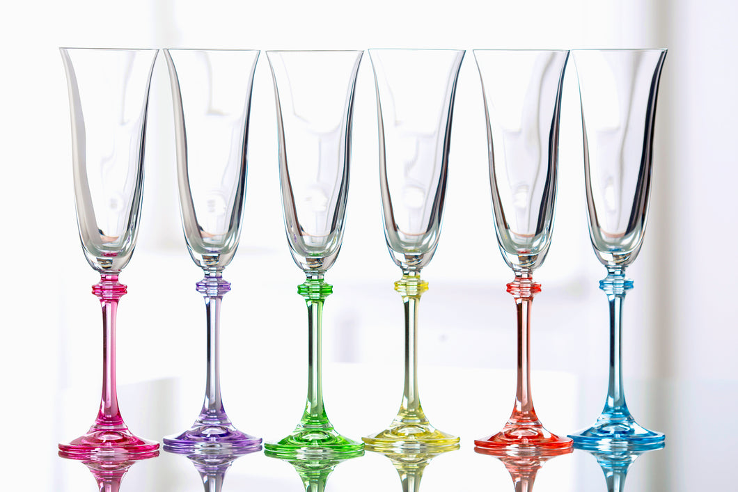 Galway Crystal - Party Pack Flute Glasses
