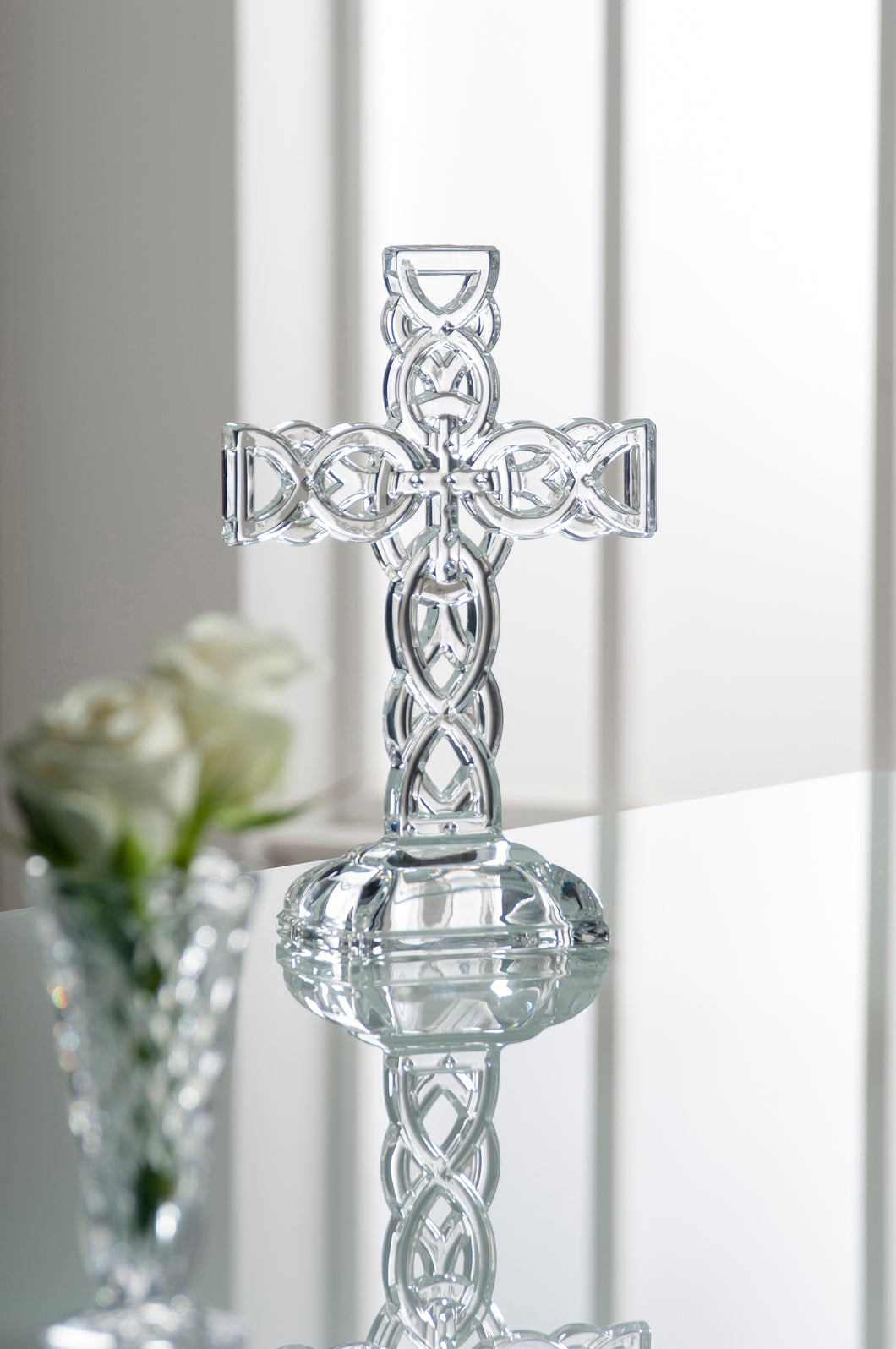 Galway Crystal - Celtic Cross