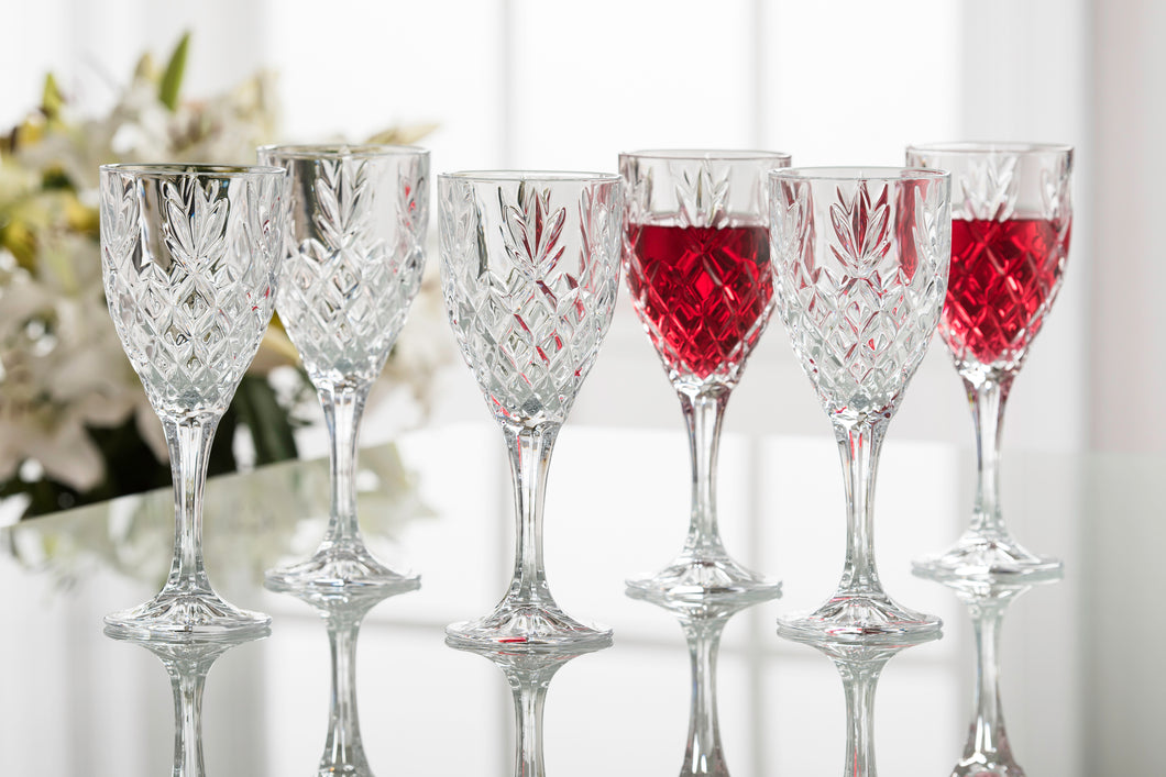 Galway Crystal - Set of 6 Renmore Goblets