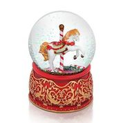 Load image into Gallery viewer, Tipperary - Christmas Carousel Snowglobe