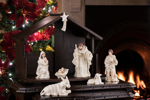Beleek - Christmas Collection Nativity Set