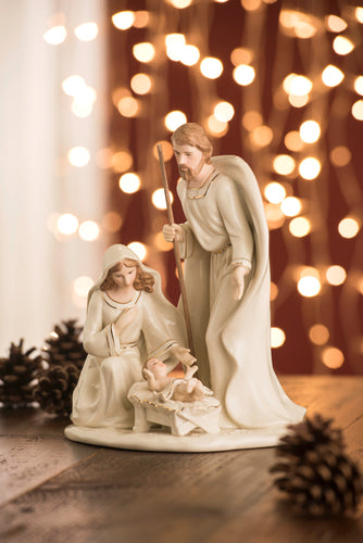 Belleek - Gold Embossed Nativity