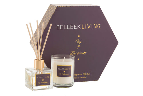Belleek - Home Fragrance Living Fig and Bergamot Gift Set