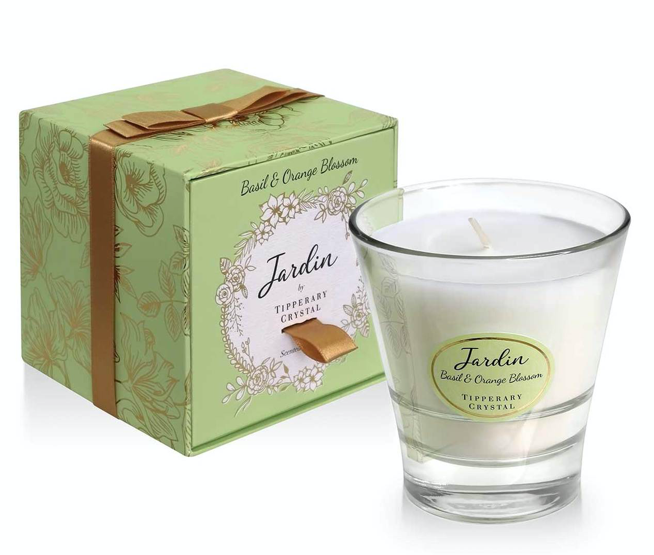 Tipperary - Jardin Collection Basil & Orange Candle