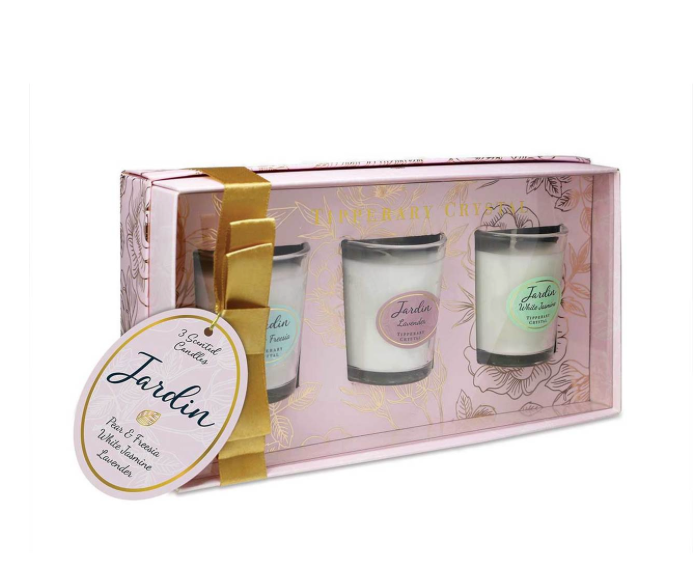 Tipperary - Jardin Mini Collection of 3 Candles