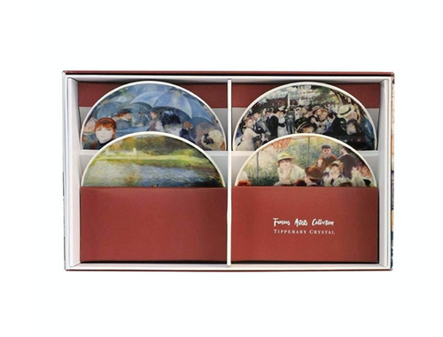 Tipperary - Famous Artists Set of 4 Biscuit Plates [August Renoir]