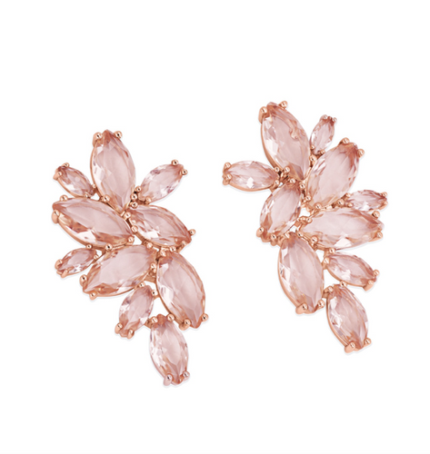 Maureen O'Hara - Rose Gold Maureen Earrings
