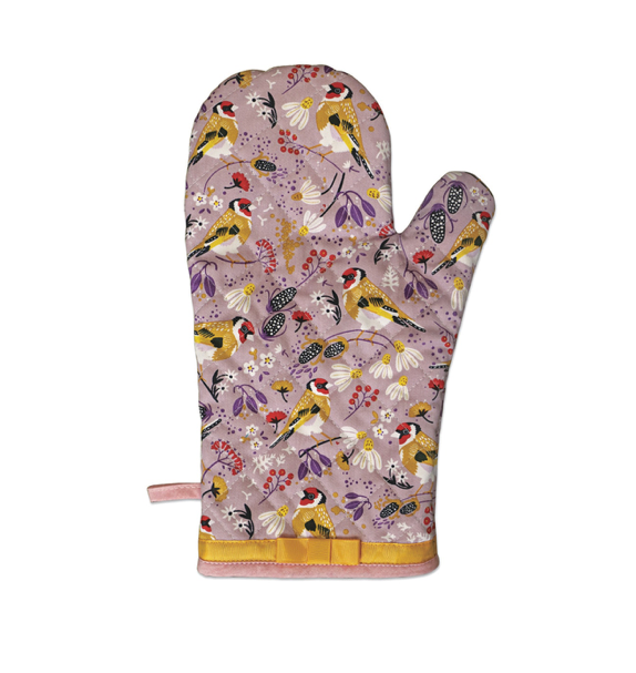 Birdy Gauntlet Oven Glove in a Presentation Box