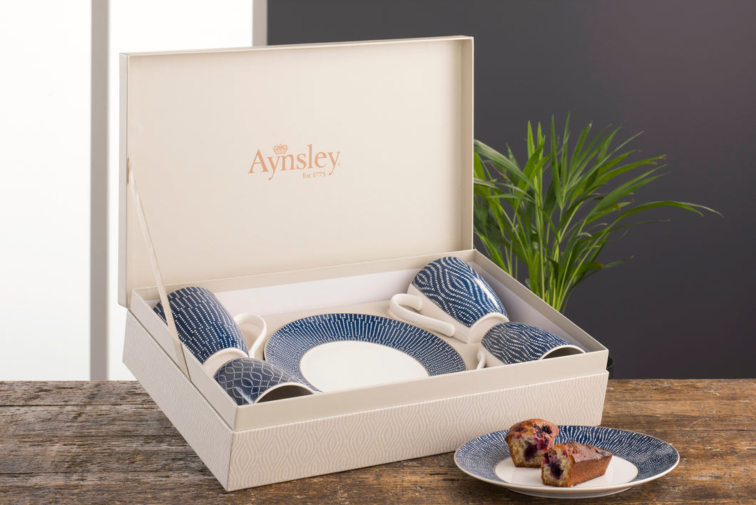 Belleek & Aynsley - The Adagio 8 Piece Set