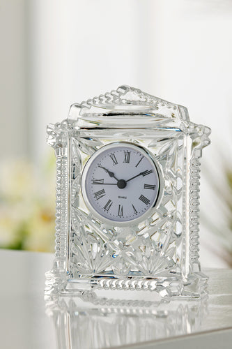 Galway Crystal - Lynch Carriage Clock