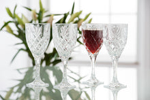 Load image into Gallery viewer, Galway Crystal - Set of 4 Renmore Goblets