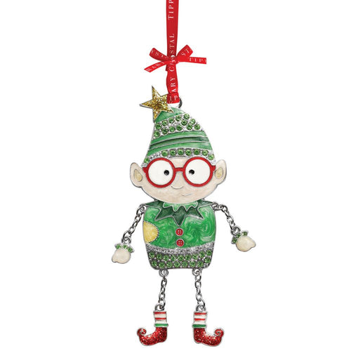Tipperary - Santa's Sparkle Elf Tree Decoration