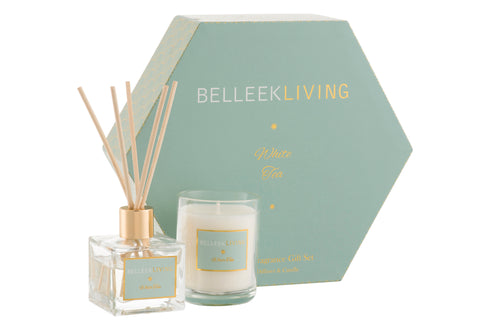 Belleek - Belleek Living Home Fragrance White Tea Gift Set