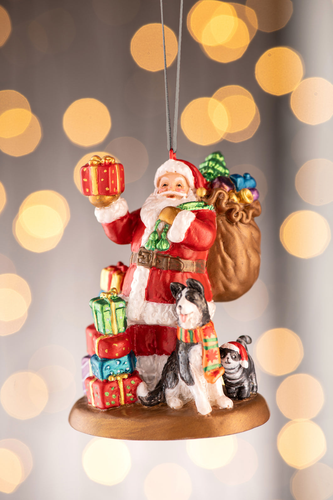 Anysley - Christmas Collection Santa Tree Ornament
