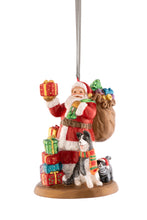 Load image into Gallery viewer, Anysley - Christmas Collection Santa Tree Ornament